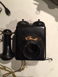 Antique Stromberg Carlson wall phone