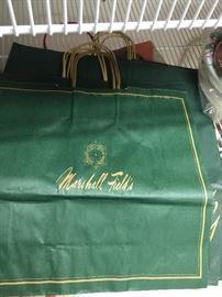 vintage Marshall Fields bags