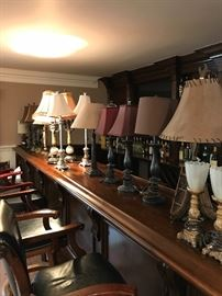 Lamps and more lamps