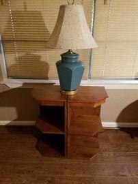 Lamp &2 seprate tables
