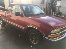 1998 Manuel S10 Chevy