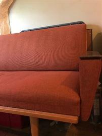 Mid Century Sofa/Sofa Bed