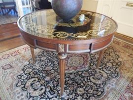 Large foyer table