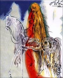 Dali Lady Godiva