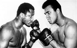 Frazier and Ali Double Autographed Photo