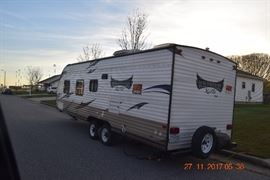 2014 Wildwood 30' Bumper Camper