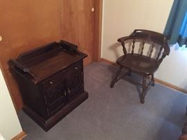 Ethan Allen Side Chair and End Table