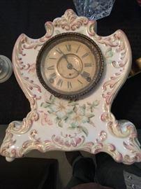 Royal Bonn Porcelain clock