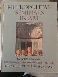 Set of 13 Metropolitan Seminars in Art books
