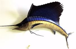 Mounted Sailfish