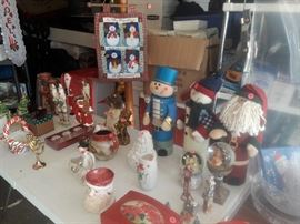 Hundreds of Christmas and holiday decorations and ornaments - most brand new!