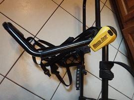 Rhode Gear bike rack, used one time.   Nice and clean.