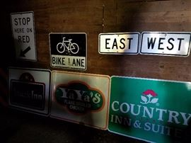misc street signs