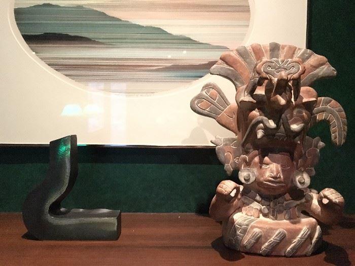 Veracocha Ceramic Statue