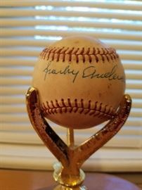 Sparky Anderson autographed baseball.