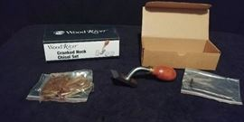 Wood River Cranked Neck Chisel Set