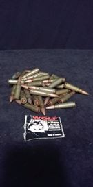 Lot of 36 7.62x39mm Wolf Cartridges