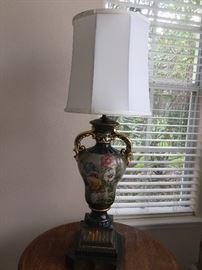 Antique lamp $25