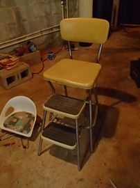 Step stool chair and child's seat