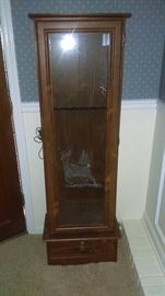 Gun Cabinet with key
