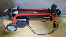 Homelite electric log splitter