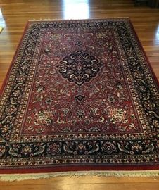 diverse selection of fine vintage oriental carpets