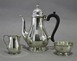 Tiffany Sterling Coffee Set
