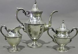 3 Piece Sterling Coffee set