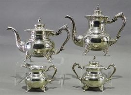 4 Piece Sterling Coffee and Tea Set
