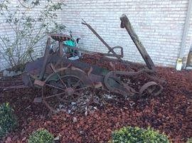 Antique John Deer potato planter