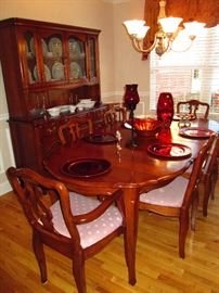 Southern Colonial Solid Cherry Dining Room