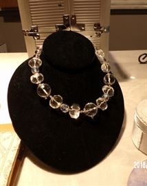 Great crystal necklace