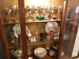 Some favorites displayed in the smaller size hutch