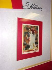 KC Chiefs, basketball, and baseball Sports Memorabilia