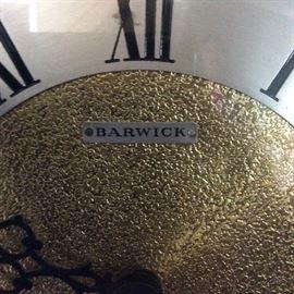 Grandfather clock label tag