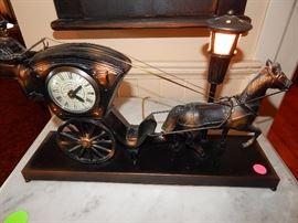 Carriage Clock/Light - mint