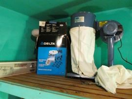 Brand new delta dust collector system never used,