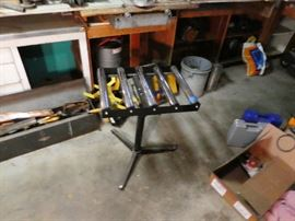 5 roller table extension