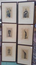 Vintage Prints Pierre & Marie S. Curie, Louis Pastuer & more