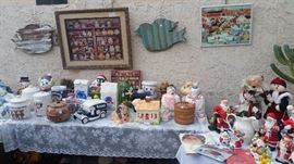 Cookie Jars, Sylvester & Tweety, (SOLD Wylie Coyote & Road Runner, Luxor Vegas, Oreo) Pillsbury, Christmas & More