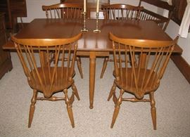 Drop leaf table/4 chairs
