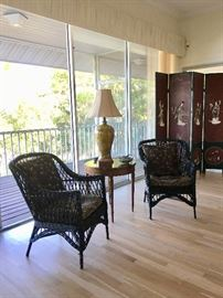 Antique Wicker Chairs