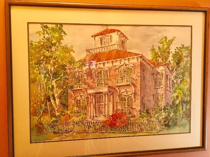 Jerry McClish Watercolor