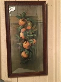 vertical fruit print