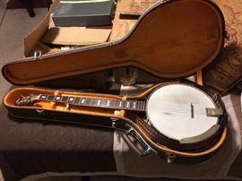 Arla vintage banjo