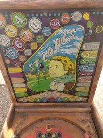 Vintage St. Louis Pinball Machine