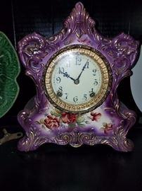 French Porcelain Clock