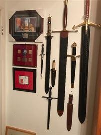 Disney, Swords in Train Room