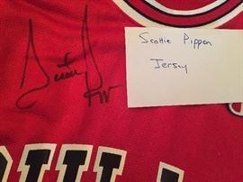 Scottie Pippen Signed Jersey ** BUY IT NOW **  $