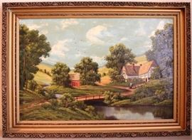 New York estate painting collection